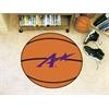 """FANMATS Evansville Basketball Mat 27"""" diameter"""