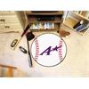"FANMATS Evansville Baseball Mat 27"" diameter"