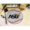 "FANMATS Alabama State Baseball Mat 27"" diameter"
