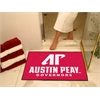 "FANMATS Austin Peay All-Star Mat 33.75""x42.5"""