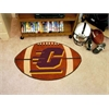 "FANMATS Central Michigan Football Rug 20.5""x32.5"""