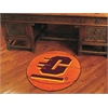 "FANMATS Central Michigan Basketball Mat 27"" diameter"