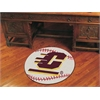"FANMATS Central Michigan Baseball Mat 27"" diameter"