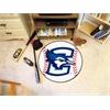 "FANMATS Creighton Baseball Mat 27"" diameter"
