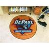 "FANMATS DePaul Basketball Mat 27"" diameter"