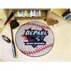 "FANMATS DePaul Baseball Mat 27"" diameter"