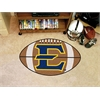 "FANMATS East Tennessee State Univ Football Mat 27"" diameter"