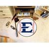 """FANMATS East Tennessee State Baseball Mat 27"""" diameter"""