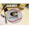 """FANMATS Emporia State Baseball Mat 27"""" diameter"""