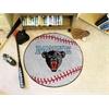 """FANMATS Maine Baseball Mat 27"""" diameter"""