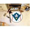 "FANMATS UNC - Wilmington Baseball Mat 27"" diameter"