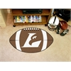"FANMATS Wisconsin-La Crosse Football Rug 20.5""x32.5"""