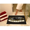 "FANMATS Wisconsin-Milwaukee All-Star Mat 33.75""x42.5"""