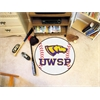 "FANMATS Wisconsin-Stevens Point Baseball Mat 27"" diameter"