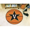 """FANMATS Vanderbilt Basketball Mat 27"""" diameter"""
