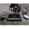 FANMATS Vanderbilt Tailgater Rug 5'x6'