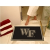 "FANMATS Wake Forest All-Star Mat 33.75""x42.5"""