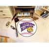 "FANMATS Western Illinois Baseball Mat 27"" diameter"