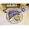FANMATS Western Illinois Soccer Ball