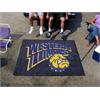 FANMATS Western Illinois Tailgater Rug 5'x6'