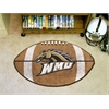 "FANMATS Western Michigan Football Rug 20.5""x32.5"""
