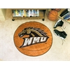 "FANMATS Western Michigan Basketball Mat 27"" diameter"