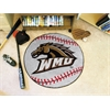 "FANMATS Western Michigan Baseball Mat 27"" diameter"
