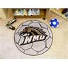 FANMATS Western Michigan Soccer Ball