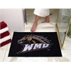 "FANMATS Western Michigan All-Star Mat 33.75""x42.5"""