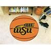 """FANMATS Wichita State Basketball Mat 27"""" diameter"""