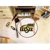 """FANMATS Wichita State Baseball Mat 27"""" diameter"""