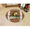 "FANMATS Wright State Football Rug 22""x35"""