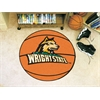 "FANMATS Wright State Basketball Mat 27"" diameter"