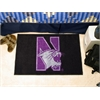 "FANMATS Northwestern Starter Rug 19""x30"""