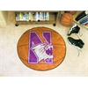 "FANMATS Northwestern Basketball Mat 27"" diameter"