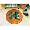 "FANMATS Hawaii Basketball Mat 27"" diameter"