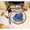 "FANMATS Old Dominion Baseball Mat 27"" diameter"