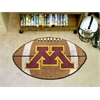 "FANMATS Minnesota Football Rug 20.5""x32.5"""