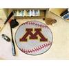 """FANMATS Minnesota Baseball Mat 27"""" diameter"""