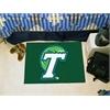 """FANMATS Tulane Starter Rug 19""""x30"""""""