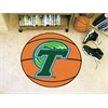 "FANMATS Tulane Basketball Mat 27"" diameter"