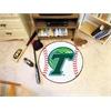 "FANMATS Tulane Baseball Mat 27"" diameter"