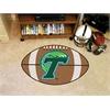 "FANMATS Tulane Football Rug 20.5""x32.5"""