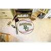"FANMATS Baylor Baseball Mat 27"" diameter"