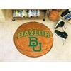 """FANMATS Baylor Basketball Mat 27"""" diameter"""