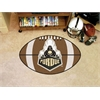 "FANMATS Purdue 'Train' Football Rug 20.5""x32.5"""
