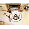 "FANMATS Purdue 'Train' Baseball Mat 27"" diameter"
