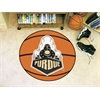 "FANMATS Purdue 'Train' Basketball Mat 27"" diameter"