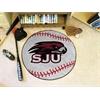 "FANMATS St. Joseph's Baseball Mat 27"" diameter"