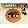 """FANMATS St. Joseph's Basketball Mat 27"""" diameter"""